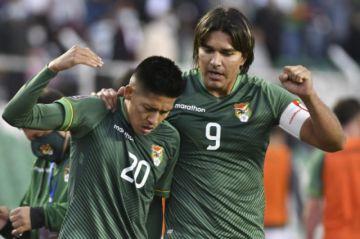 Bolivia gana y se da un soplo de vida en las Eliminatorias