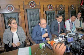 El TCP avaló la sucesión presidencial a Áñez, según admitió el magistrado Hurtado en 2019