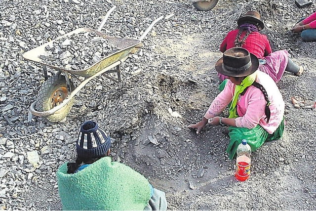 Producción minera en 2014 cayó un 33% en Chuquisaca