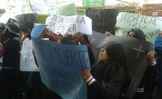 Muerte de niña en El Alto impulsa movilización de vecinos