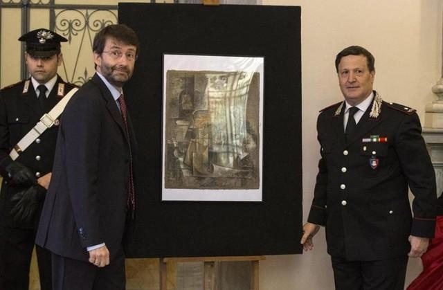 Policía italiana encuentra un Picasso robado valorado en 15 millones de euros