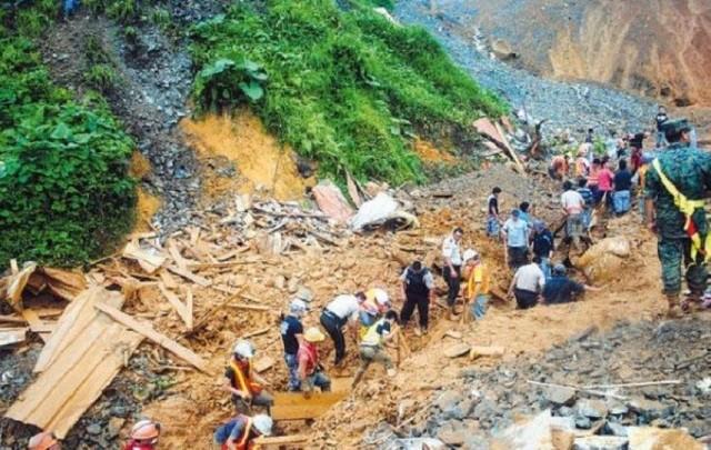 Al menos seis muertos por alud en Ecuador