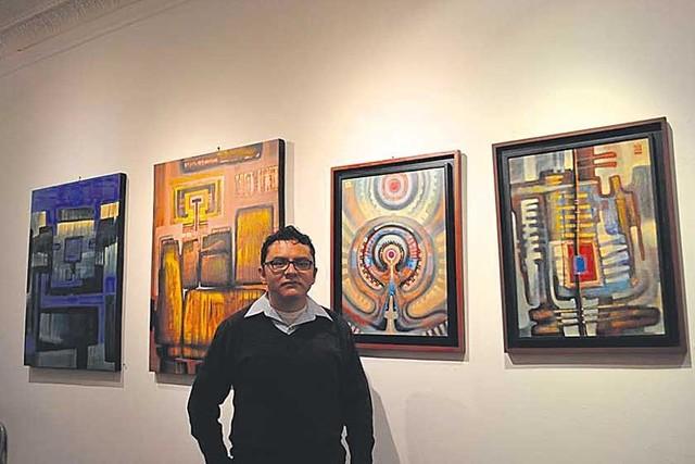 Roberto Andrade expone  su pintura en Nueva York