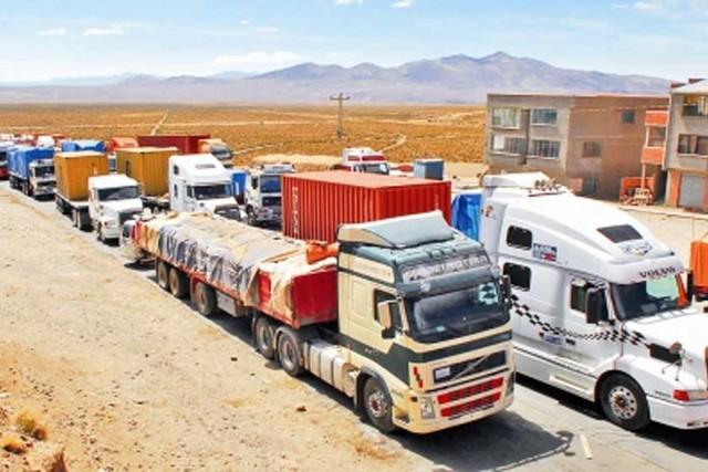 Transporte pesado decide bloquear vías y fronteras