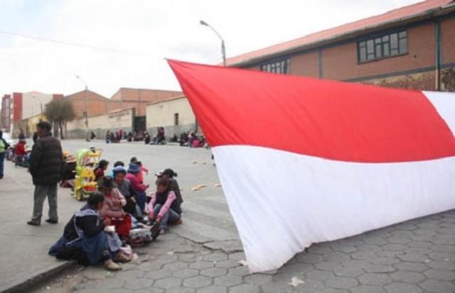 Se cumplió segunda jornada de paro indefinido en la ciudad de Potosí