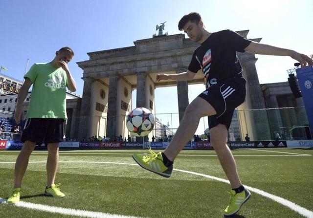 """Berlín despliega una """"alfombra verde"""" para dar la bienvenida a la Champions"""
