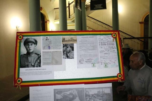 Familiares conmemoran a ex combatientes del Chaco