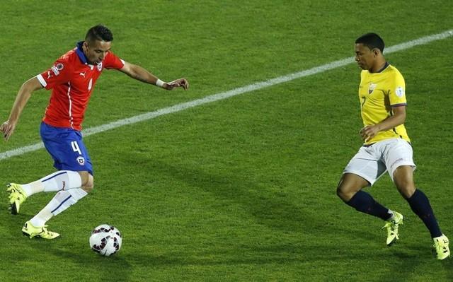 Chile debuta en la Copa América con triunfo sobre Ecuador