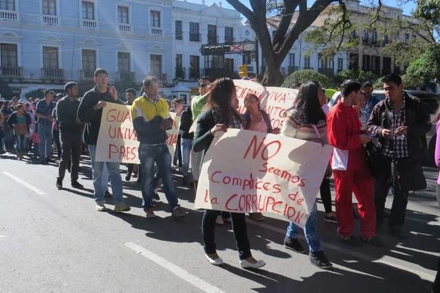 Tres frentes de conflicto tienen  en alerta a San Francisco Xavier