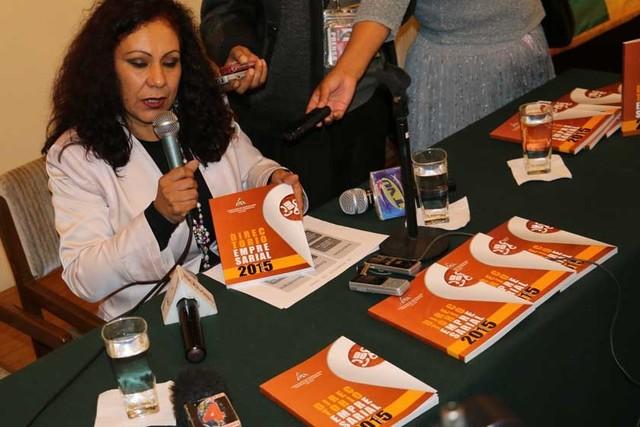 Privados presentan Directorio Empresarial 2015