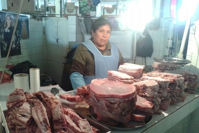 Se normaliza de a poco venta de carne de res en Sucre