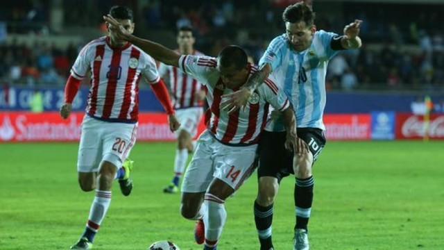 Paraguay le roba el triunfo a Argentina con goles de infarto