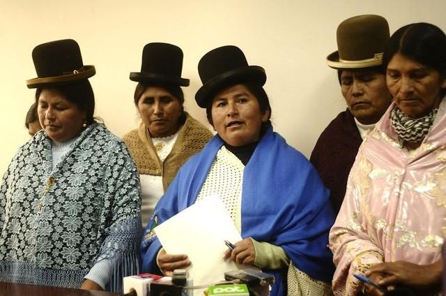 Bartolinas devuelven más de 5 millones al Estado del Fondo Indígena