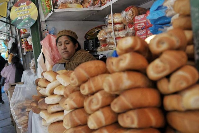 El pan en Sucre sube a 50 centavos desde hoy