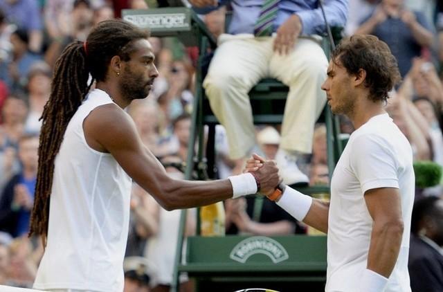 Nadal se despide de Wimbledon tras caer con el alemán Brown
