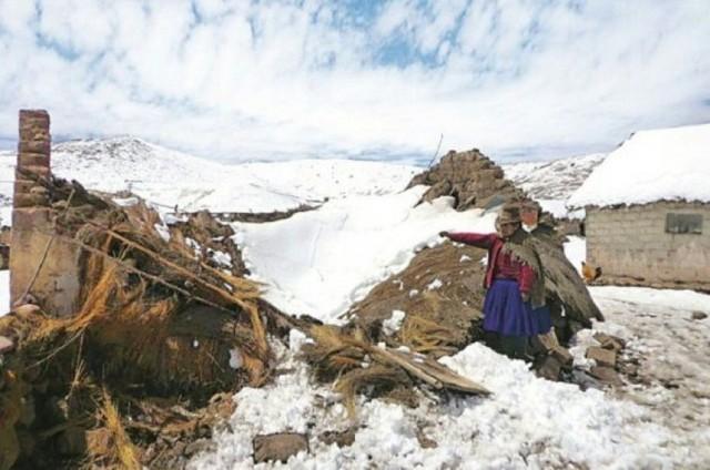 Al menos seis muertos en una mina informal del sur de Perú por alud de nieve