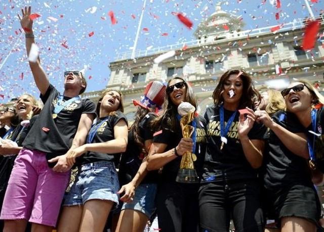 Nueva York recibe a las campeonas del mundo