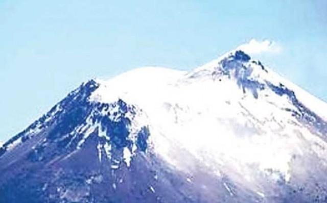 Volcán en zona chilena preocupa a bolivianos