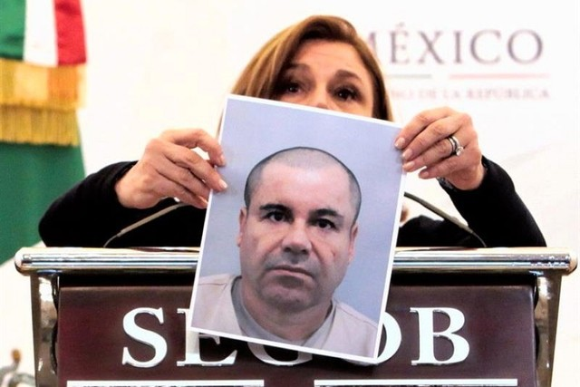 """Fiscalía mexicana publica condiciones de recompensa por detener a """"El Chapo"""""""