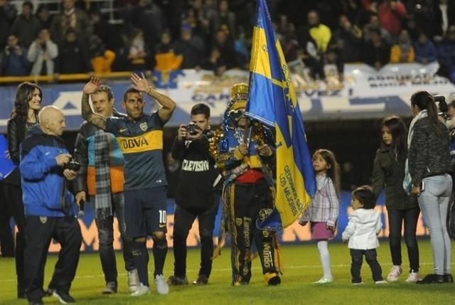 Boca ganó en el regreso de Tevez y River goleó al Atlético Rafaela