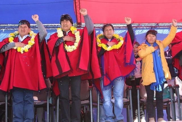 Evo Morales cree que protestas en Potosí son promovidas desde Chile