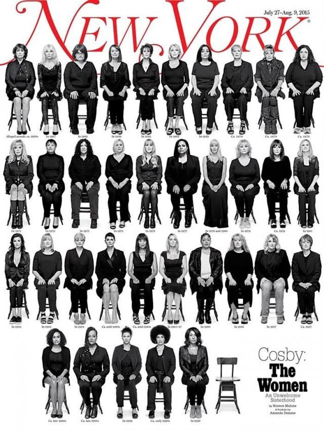 35 mujeres acusan a Cosby de abusos en New York Magazine