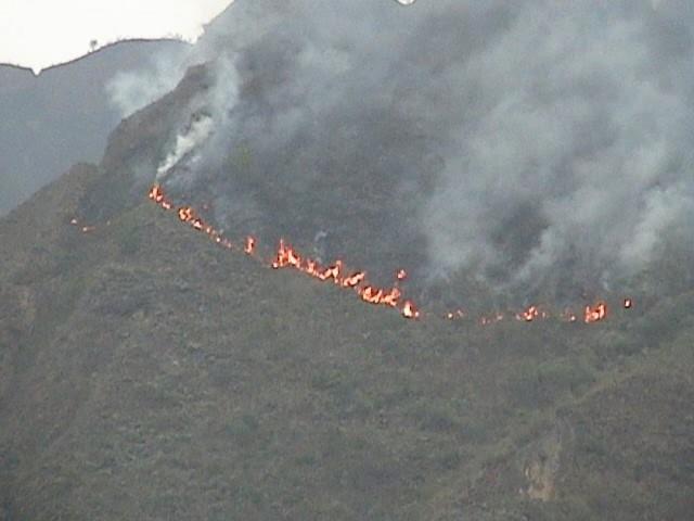 Más de 500 focos de calor amenazan con posibles incendios en el país