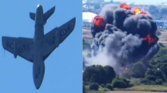 Se estrella avión en Inglaterra