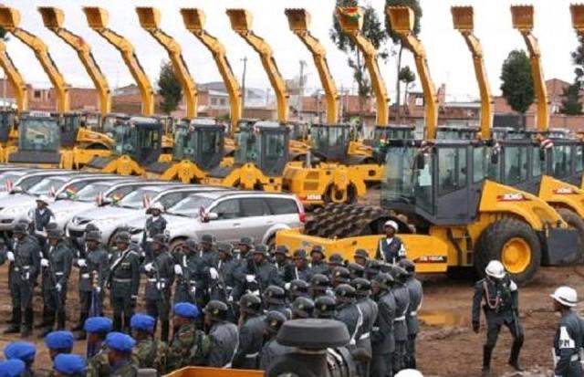 Quiebra la empresa de construcciones del Ejército boliviano
