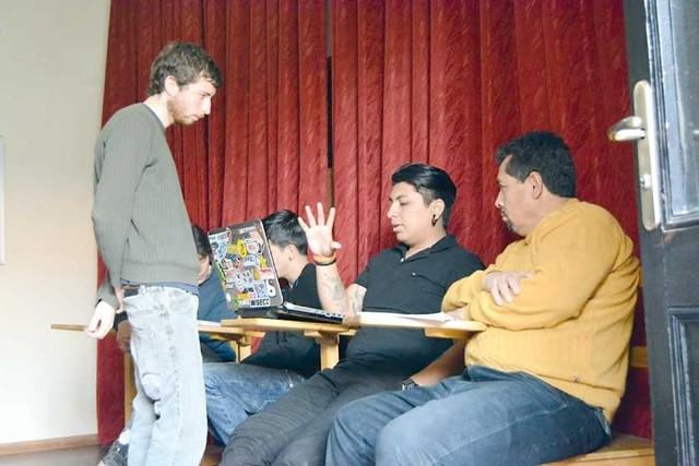 Los alumnos de la escuela  de cine empiezan a rodar