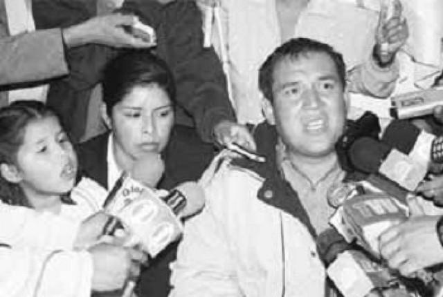Lenin Sandoval es aprehendido en San Ignacio de Velasco y será trasladado a Padilla