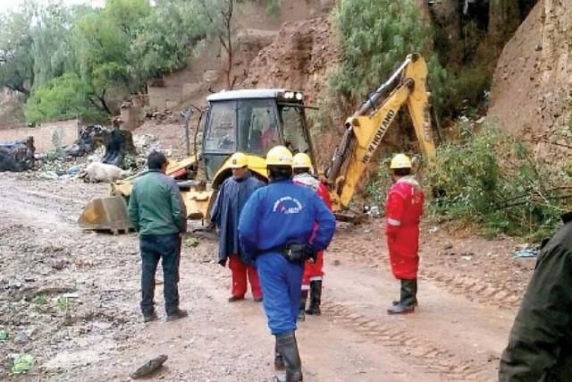 Sostenida lluvia en Sucre no provoca mayores problemas