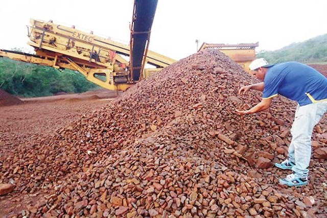 Sindicato reporta daño de $us 156 millones al Mutún