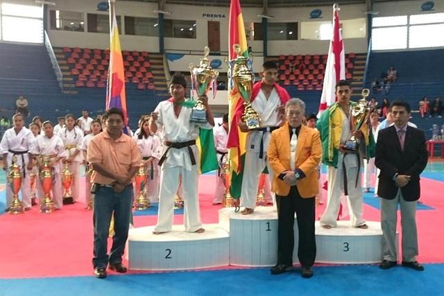 Bolivia hace respetar su casa y gana el Sudamericano de Karate
