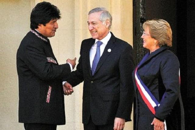 """Evo Morales cree que el canciller chileno necesita ver a """"un psiquiatra"""""""