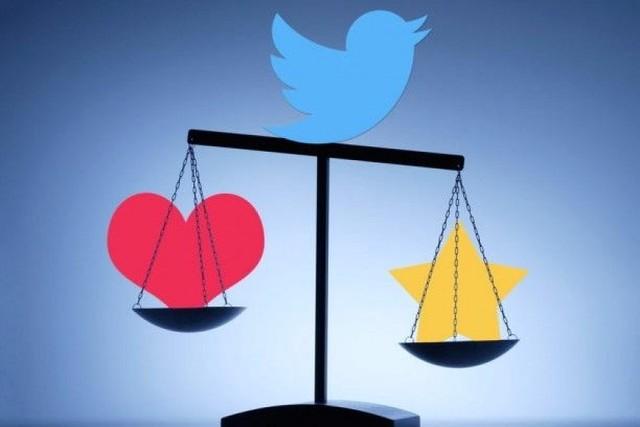 """Twitter cambia el """"favorito"""" por el """"me gusta"""" con un corazón"""