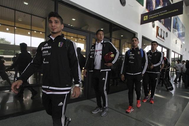 La Vinotinto ya está en Santa Cruz a la espera del partido ante Bolivia