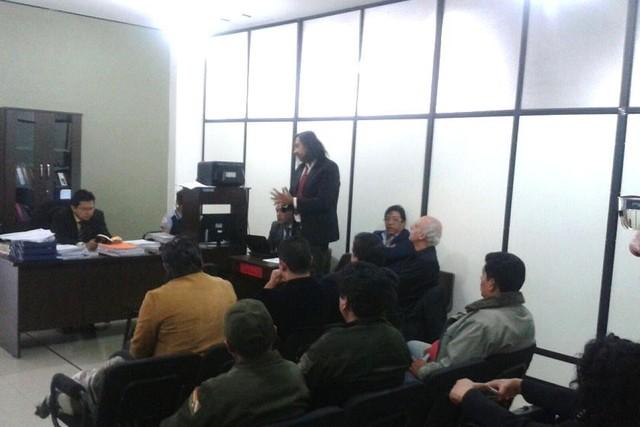 Juez rechaza incidentes a Chávez y Salomón
