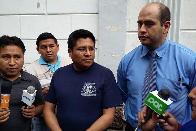 Ex fiscal Humberto Quispe denuncia al juez Roberto Valdivieso