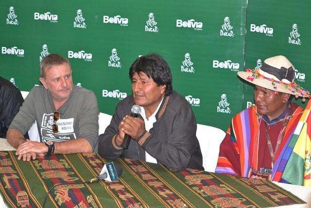 Morales dice que Bolivia está preparada para otro Dakar