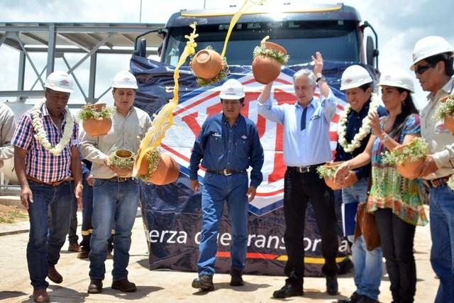 """""""Gasoducto virtual"""" llega a 27 localidades alejadas"""