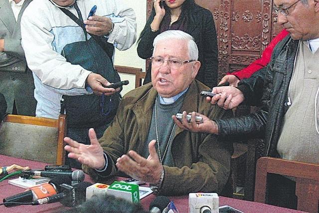 Arzobispado de Sucre hace llegar su apoyo moral y espiritual a la ciudad de El Alto