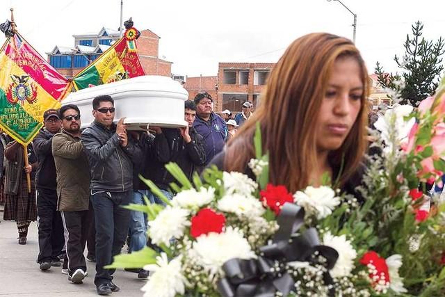 ¿Quiénes murieron en El Alto?