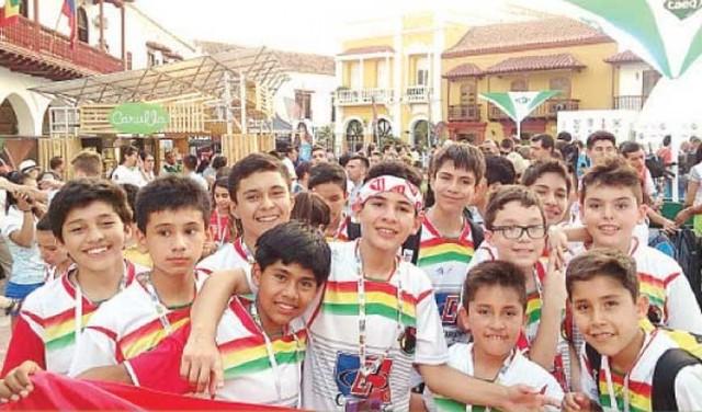 Bolivia cosecha dos medallas en Colombia