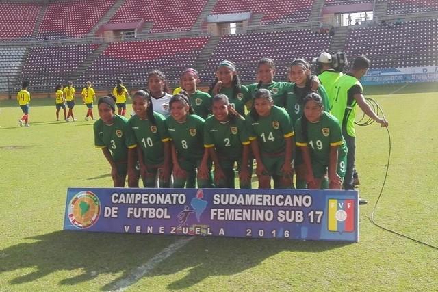 Se acaba el sueño boliviano en el Sudamericano de fútbol femenino Sub-17