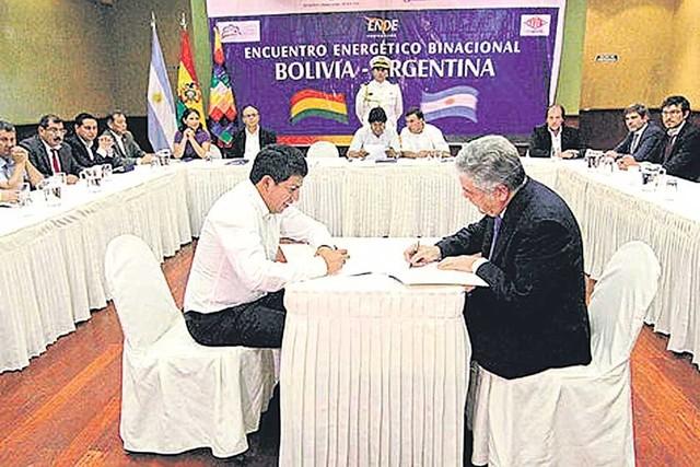 Bolivia subirá cupo de exportación de  energía a Argentina