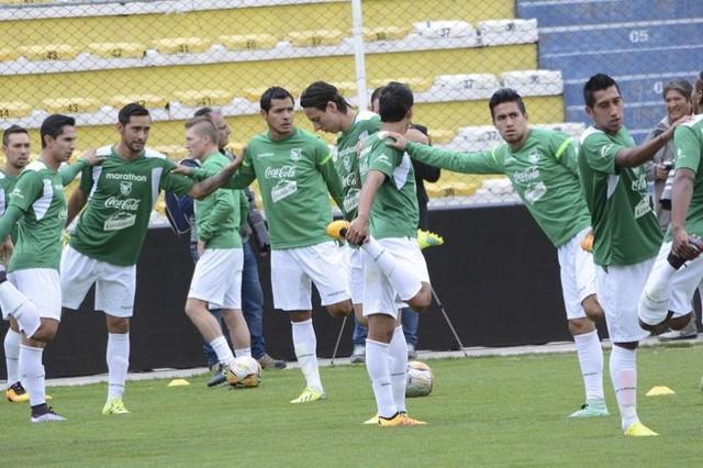 La Selección boliviana ultima detalles para enfrentar a Colombia