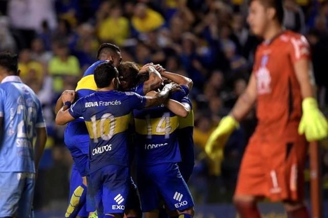 Bolívar cae ante Boca y se complica en el grupo 3 de la Copa