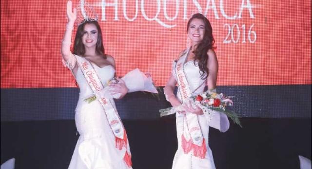 Camila Andrade gana la corona Miss Chuquisaca