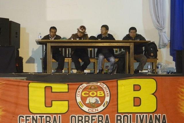 Central Obrera Boliviana rechaza 4% de incremento salarial ofrecido por el Gobierno